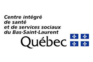 Logo Centre intégré de santé et de services sociaux du Bas-Saint-Laurent