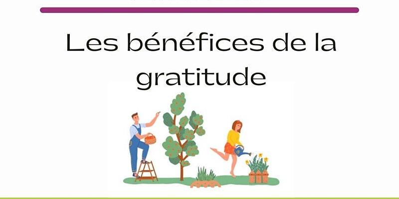 Les bénéfices de la gratitude