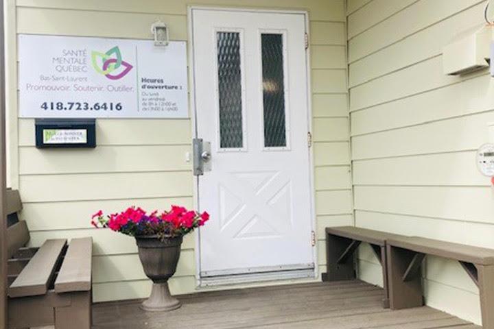 Accueil de la maison Santé Mentale Québec - Bas-Saint-Laurent