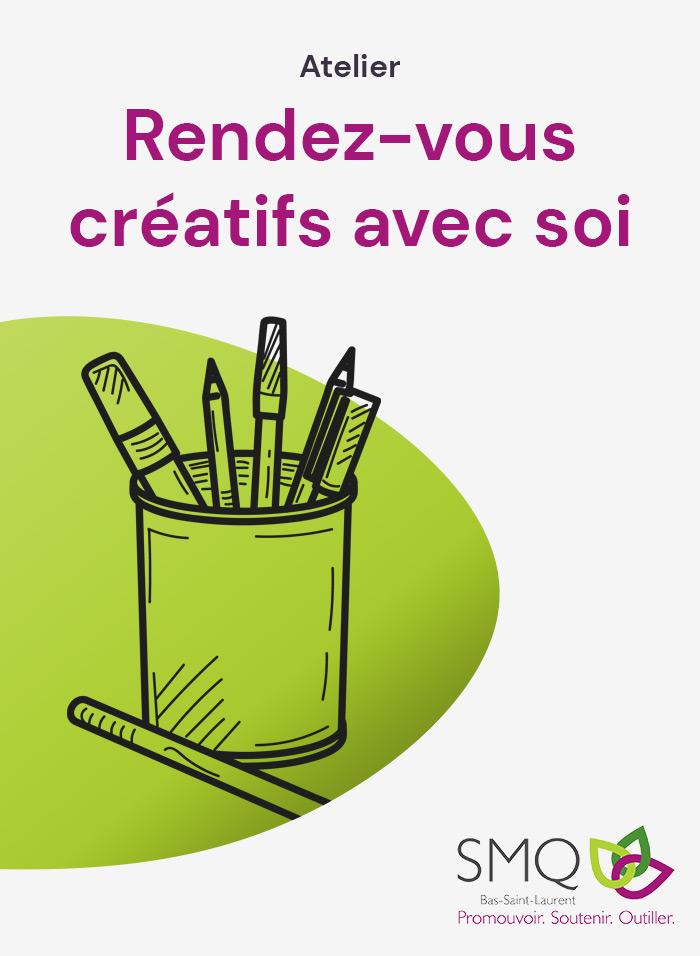 Atelier : Rendez-vous créatifs avec soi
