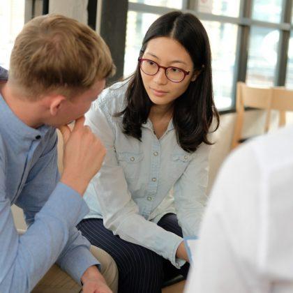 Consultation en santé mentale avec un intervenant