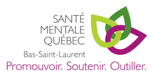 Logo Santé Mentale Québec - Bas-Saint-Laurent